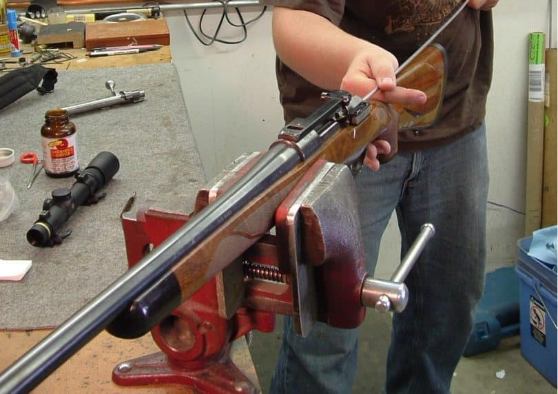 rifle cleaning steps
