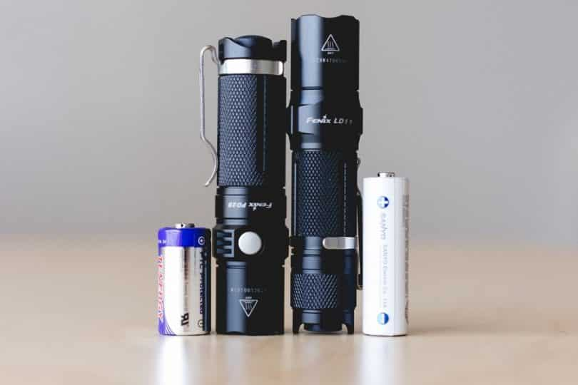 type of batteries