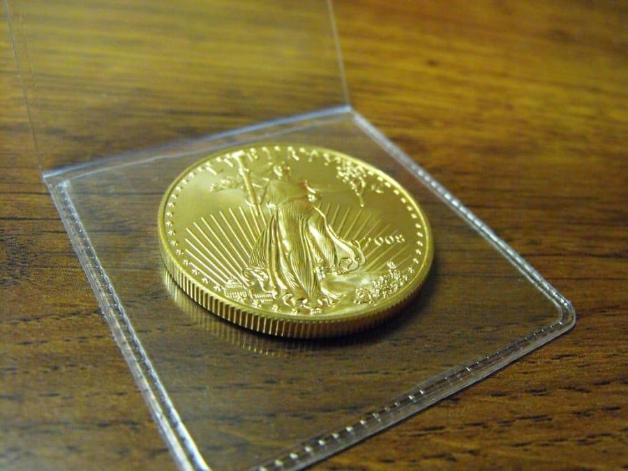 U.S. Gold Eagle coin