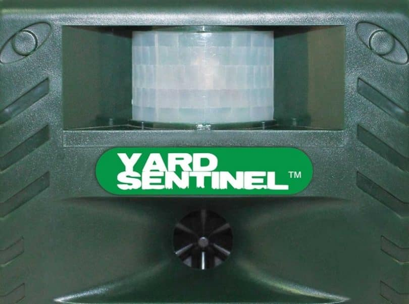 Yard Sentinel - Electronic Pest & Animal Repeller with Ac Adaptor & 30ft Extension Cord