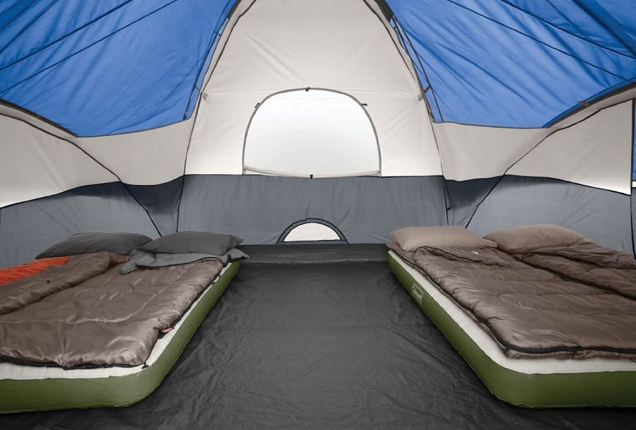 6 person tent High Ceilings