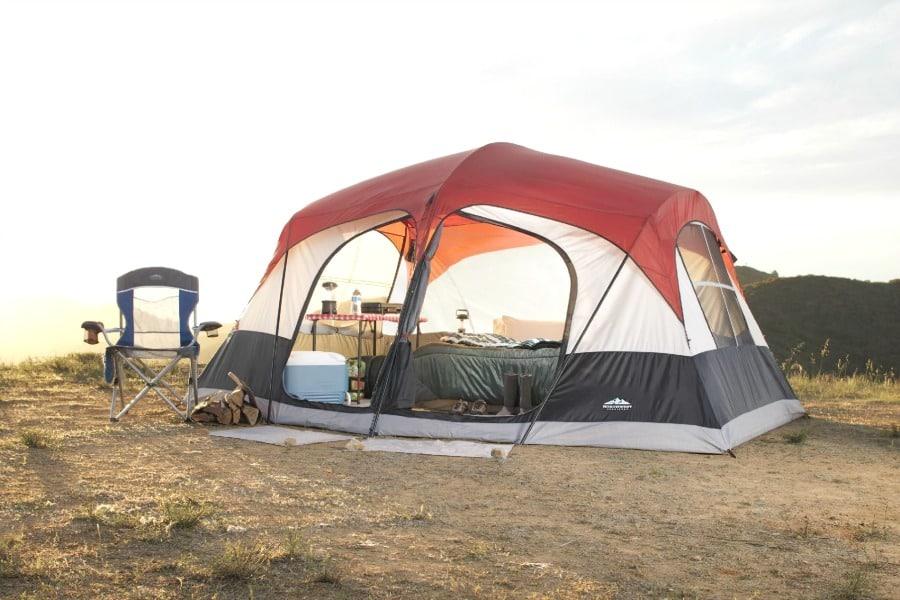 6P tent doors
