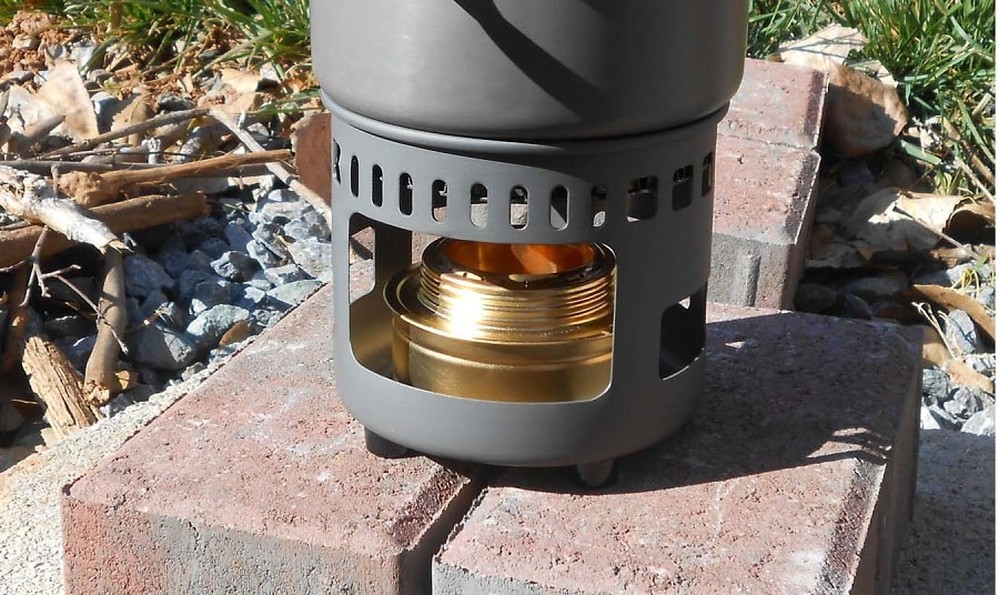 Alcohol stove features