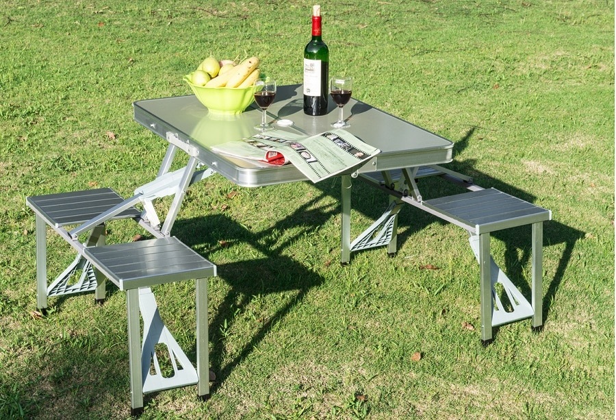 Camping Folding Table features