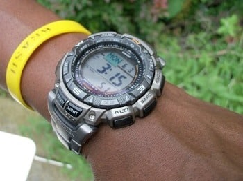 Casio Men's PAG240T-7CR Watch