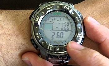 Casio Men's PRW-2500T-7CR Pro-Trek Tough Solar Digital Sport Watch