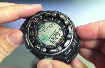 Casio Men's PRW-2500T-7CR Pro Trek Tough Solar Watch