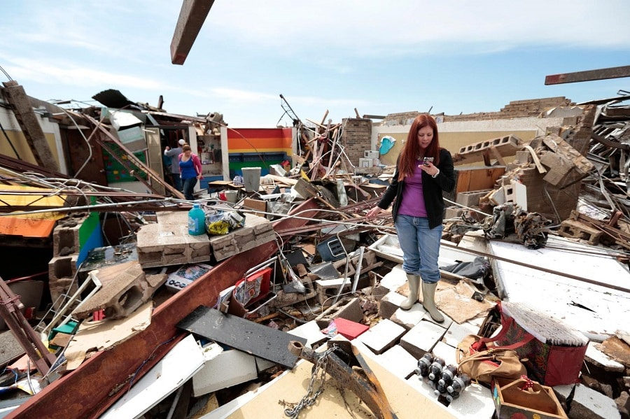 Cell phone Communication During A Disaster