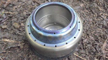 Evernew Titanium Alcohol Stove