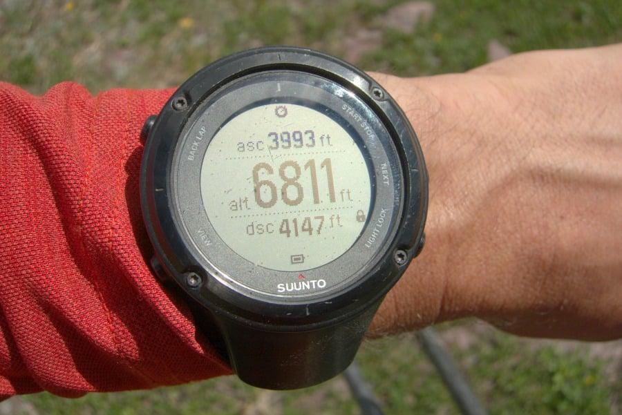 GPS Based Altimeter Watch