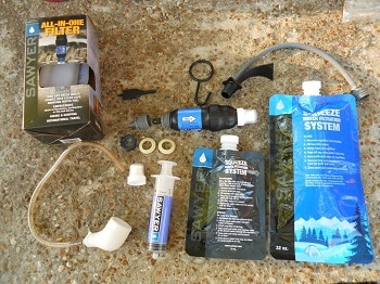 Sawyer All-in-one Water Filter