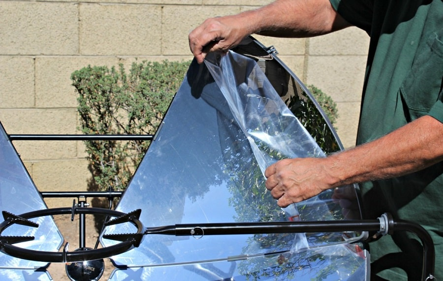 SolSource Solar Cooker unpacking