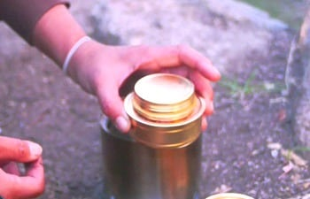 Solo Alcohol Burner - Spirit Alcohol Stove