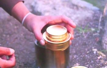 Solo Alcohol Burner - Spirit Alcohol Stove