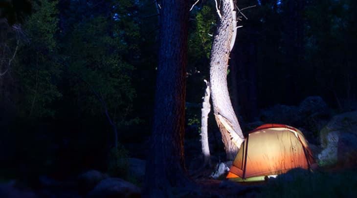 Bright camping lantern