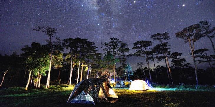 Get the camping lantern