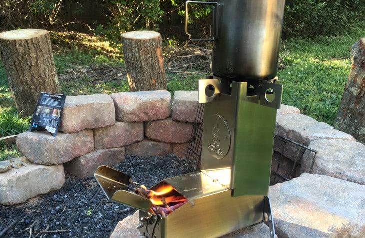 Hot ash stove specs