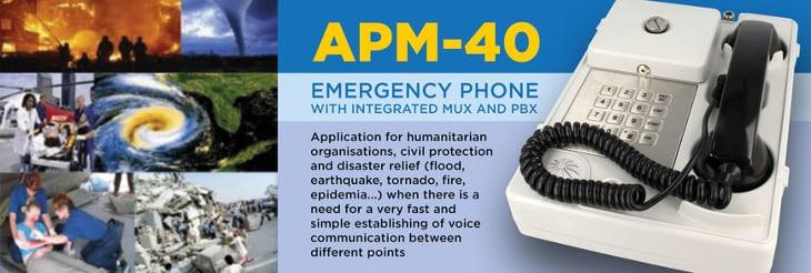 APM 40 comms system