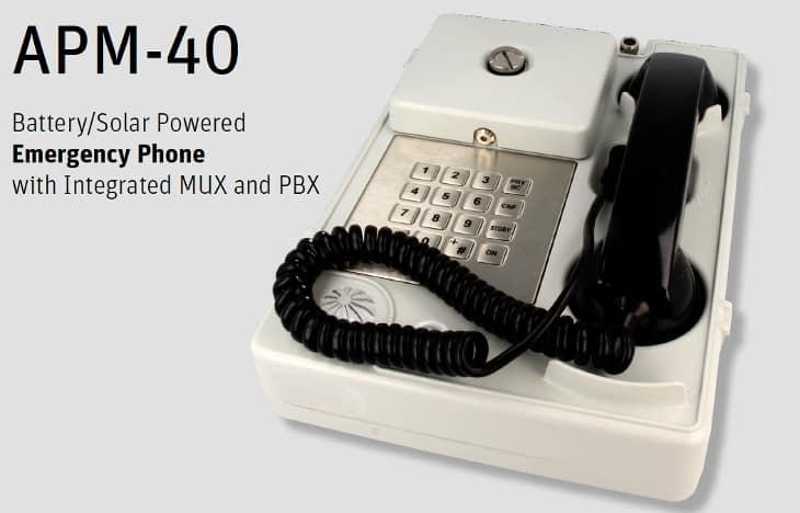 APM 40 emergency phone