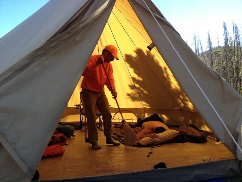 Big Canvas Tent