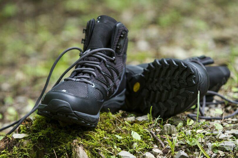Black Hiking Boots