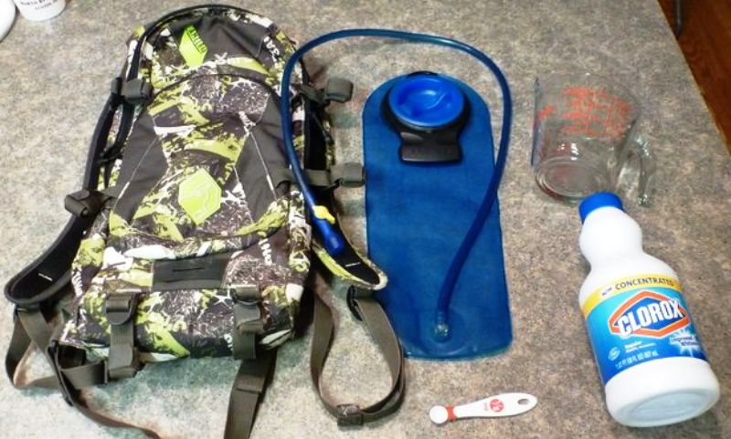 Cleaning Camelbak With Bleach