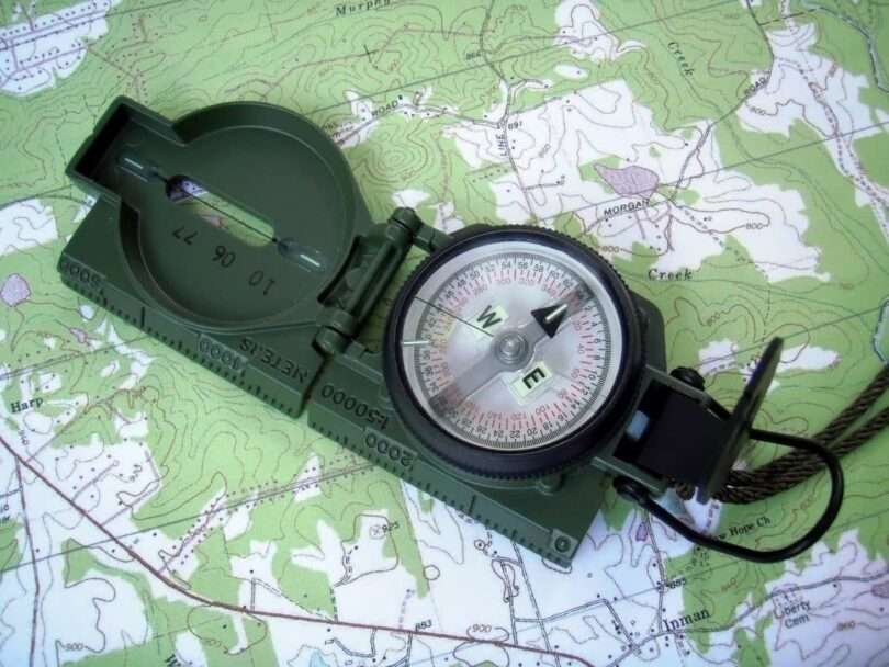 How To Adjust Compass Declination Guide For Setting Up Your Compass - 2017 magnetic declination map of the us