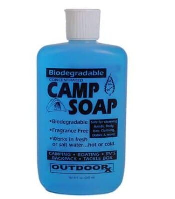 Outdoor RX Soap