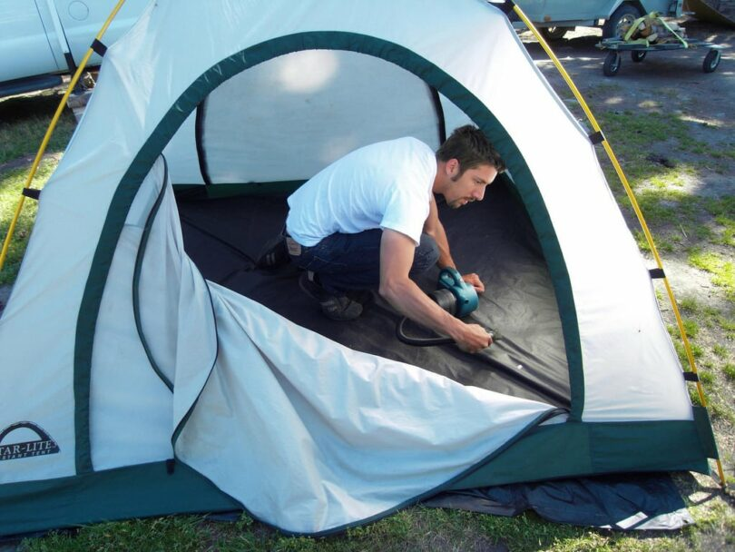 Cleaning and Care of Tents