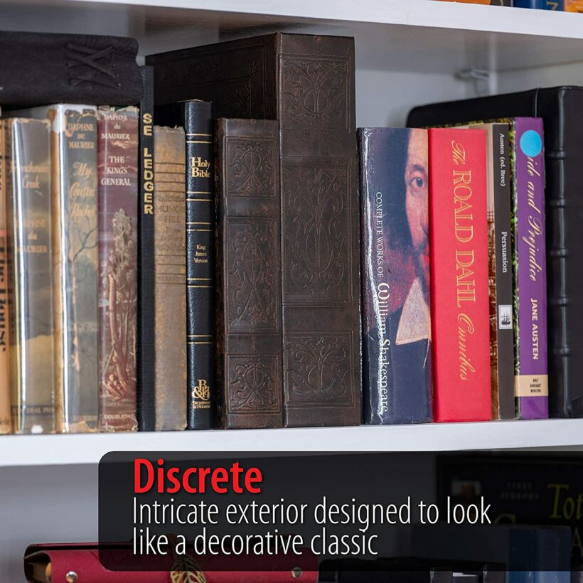Faux concealed book set