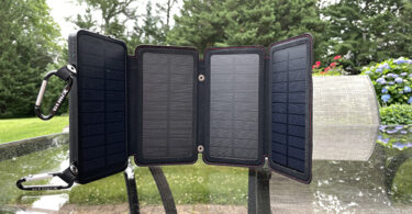 Front view of the Survival From QuadraPro Solar Power Bank