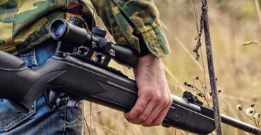 Carrying a classic air rifle while hunting