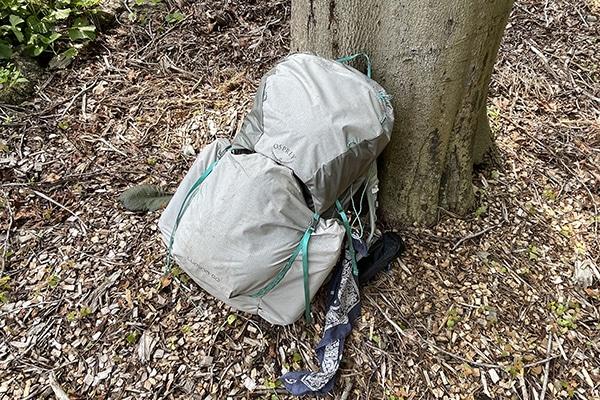 Osprey Lumina 60 used on the Benton Mackaye Trail