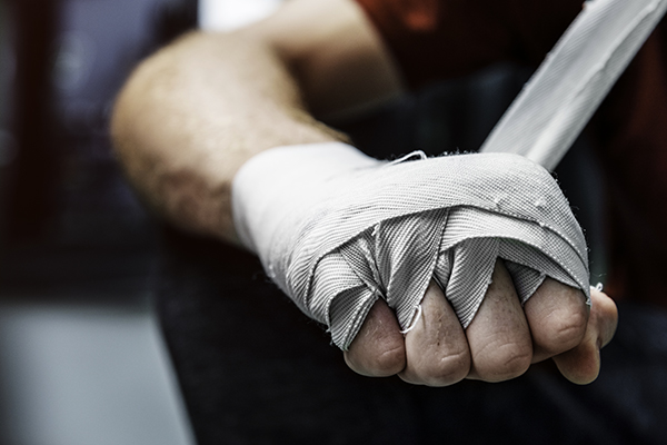 Wrapping hand for martial arts