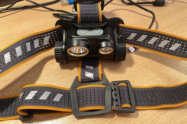HM65R headlamp strap and lamp